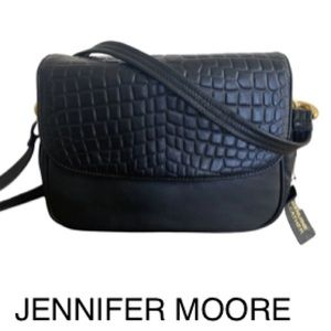 NWT Jennifer Moore Leather Crossbody bag